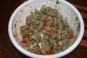 Garlic Basil Pasta Salad